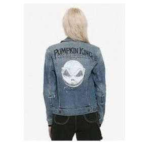 Jackets & Blazers - HOT TOPIC THE NIGHTMARE BEFORE CHRISTMAS JACKET XL
